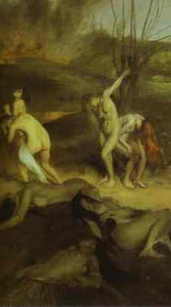 Moments of a festival captured by Francisco de Goya